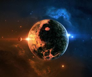 space and planet image