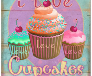 cupcakes and love image