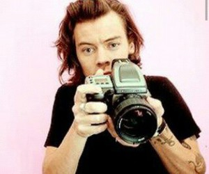 harrystyles, directioner, and onedirection image