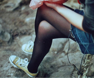 girl, photography, and converse image