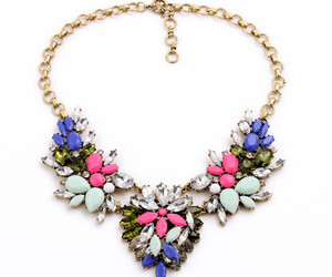 fashion, jewelry, and necklace image