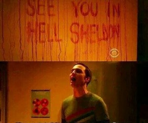 sheldon, funny, and hell image