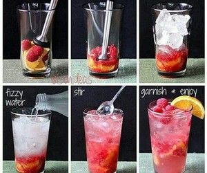 drink, fruit, and diy image