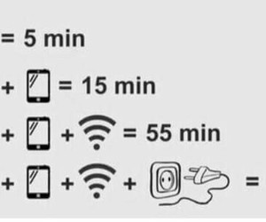 funny, wifi, and phone image