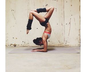 flexible, inspiration, and yoga poses image