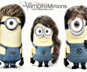 minions, tvd, and the vampire diaries image