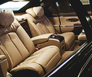 car, luxury, and leather image