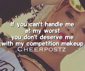 cheer, cheerleader, and competition image
