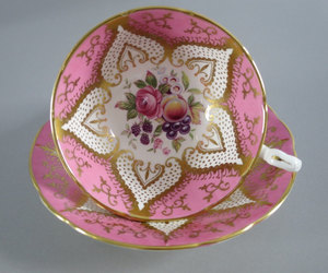 etsy, vintage, and teacup and saucer image