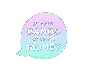 bands, pastel, and rainbow image