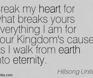 god, heart, and Hillsong image