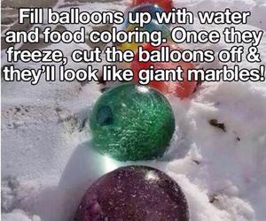 diy, balloons, and fun image