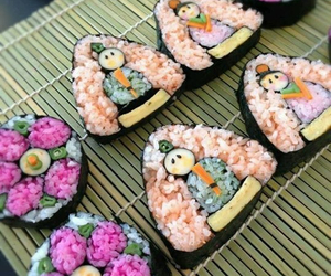 amazing, food art, and sushi image