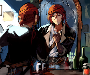 pirate, rin, and free! image
