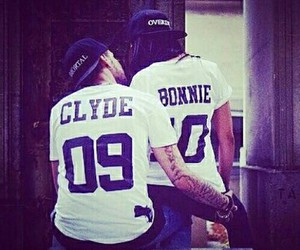 love, couple, and Bonnie image