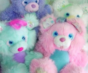 pastel, teddy, and cute image