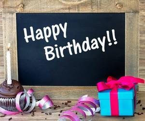 birthday, cake, and happy image