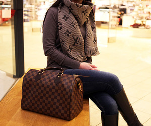 fashion, Louis Vuitton, and bag image