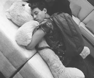 aww, bear, and cute boy image