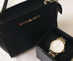 bag, Michael Kors, and watch image