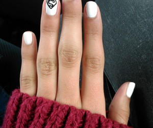 design, nails, and white image