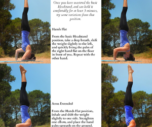 headstand, strenght, and yoga image