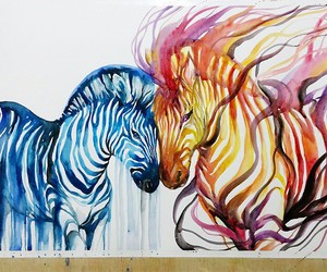 animal, art, and colour image
