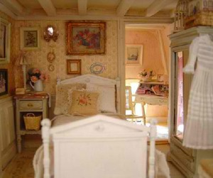 dollhouse, girl room, and room image