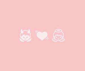ピンク, 天使, and 悪魔 image