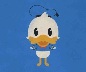 duck, disney, and donald duck image