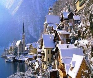 travel, austria, and winter image