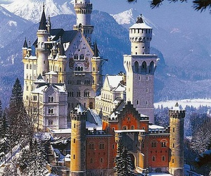castle, building, and germany image