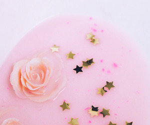 pink, stars, and pastel image