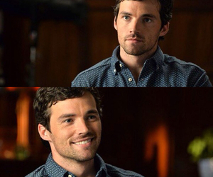 handsome, ian harding, and smile image