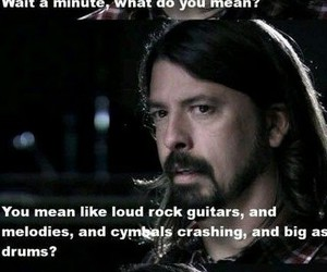 dave grohl, punk, and rock image