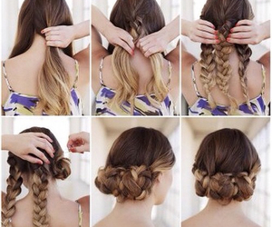 hair style, tutorials, and cute image
