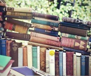 books, happy, and reading image