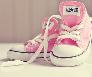 all stars, pink, and cute image