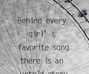 girl, story, and song image