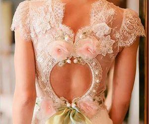 bride, dress, and details image