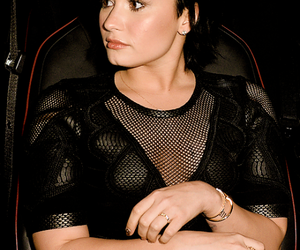 blue hair, demi lovato, and tumblr image