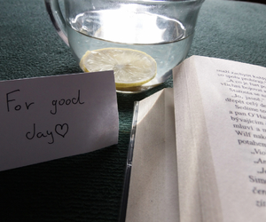 book, good day, and read image