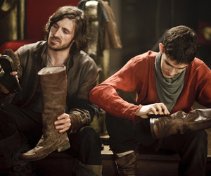 merlin and gwaine image
