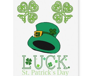 shamrock, st patricks day, and Tattoos image