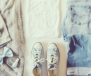 converse, clothes, and jeans image