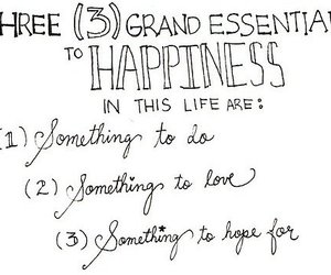 happiness, love, and life image