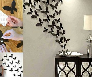 butterfly, diy, and pretty image