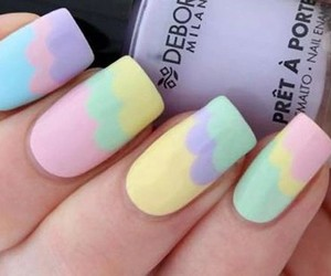nails, cute, and pastel image