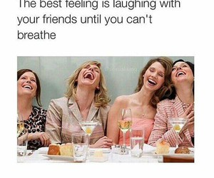 friends, laughing, and best feeling image