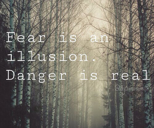 danger, fear, and illusion image